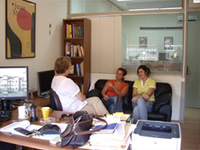 Nanny Hartsmar at the University of Patras CiCea Research Centre