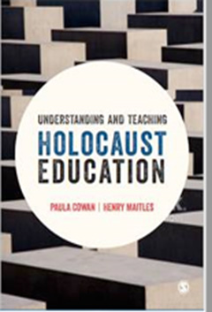 Holocaust Education - Paula Cowan & Henry Maitles - BOOK COVER