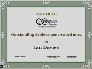 Ian Davies' Outstanding Achievement Award 2012